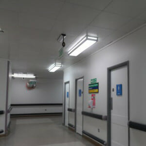 hospital refurbishment contract